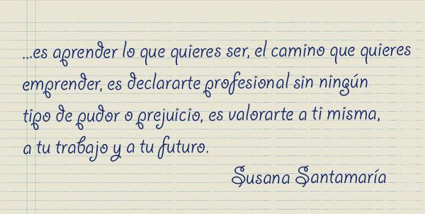 Testimonio Susana Santamaría