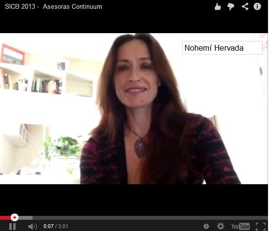 Las Asesoras Continuum celebramos la  SICB 2013