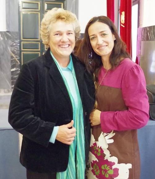 Jill Bergman y Nohemí Hervada