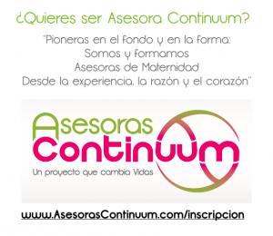 inscripción Asesoras Continuum