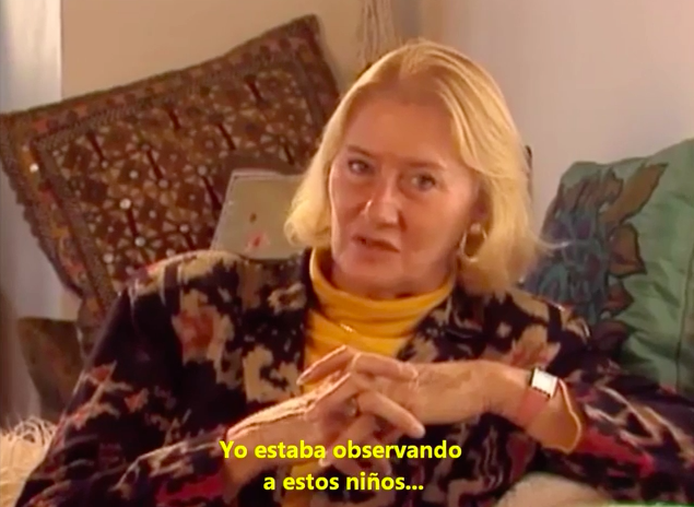 Vídeo entrevista a Jean Liedloff