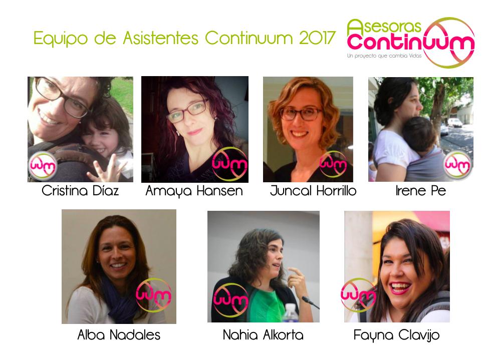 asistentes continuum 2017