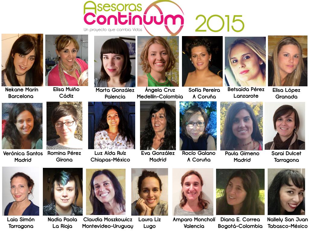 Alumnas Continuum 2015
