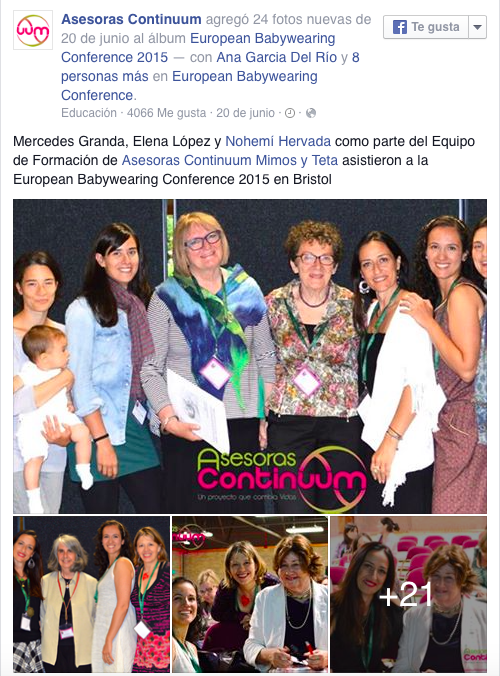 EuropeanBabywearing Conference 2015