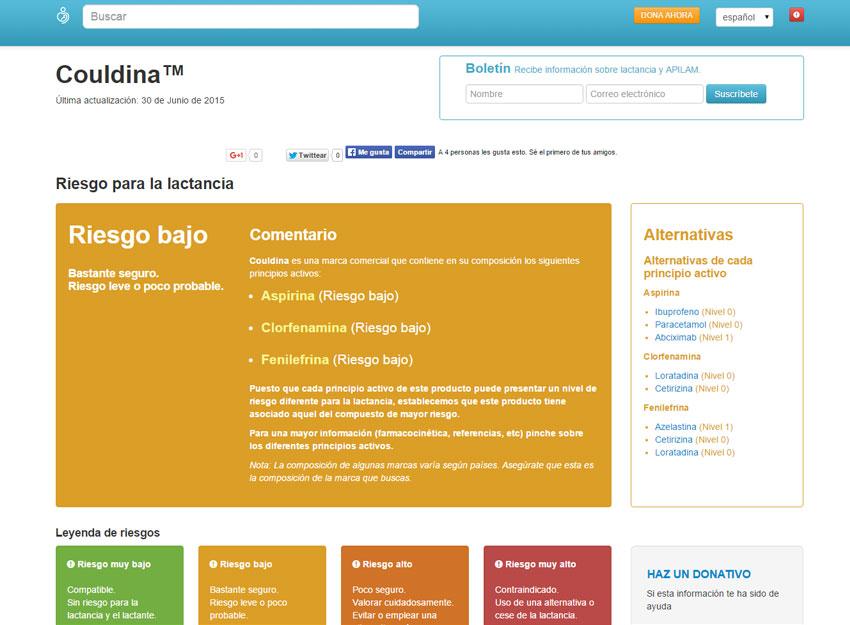 e-lactancia.org, recursos fiables maternidad